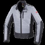 b14720df5e0e1 Letnia tekstylna kurtka motocyklowa SPIDI T230 Solar Net 010 czarno-szara