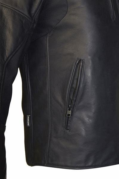 2703d52739e41 Męska klasyczna kurtka skórzana SPIDI P160 Thunderbird 026 czarna